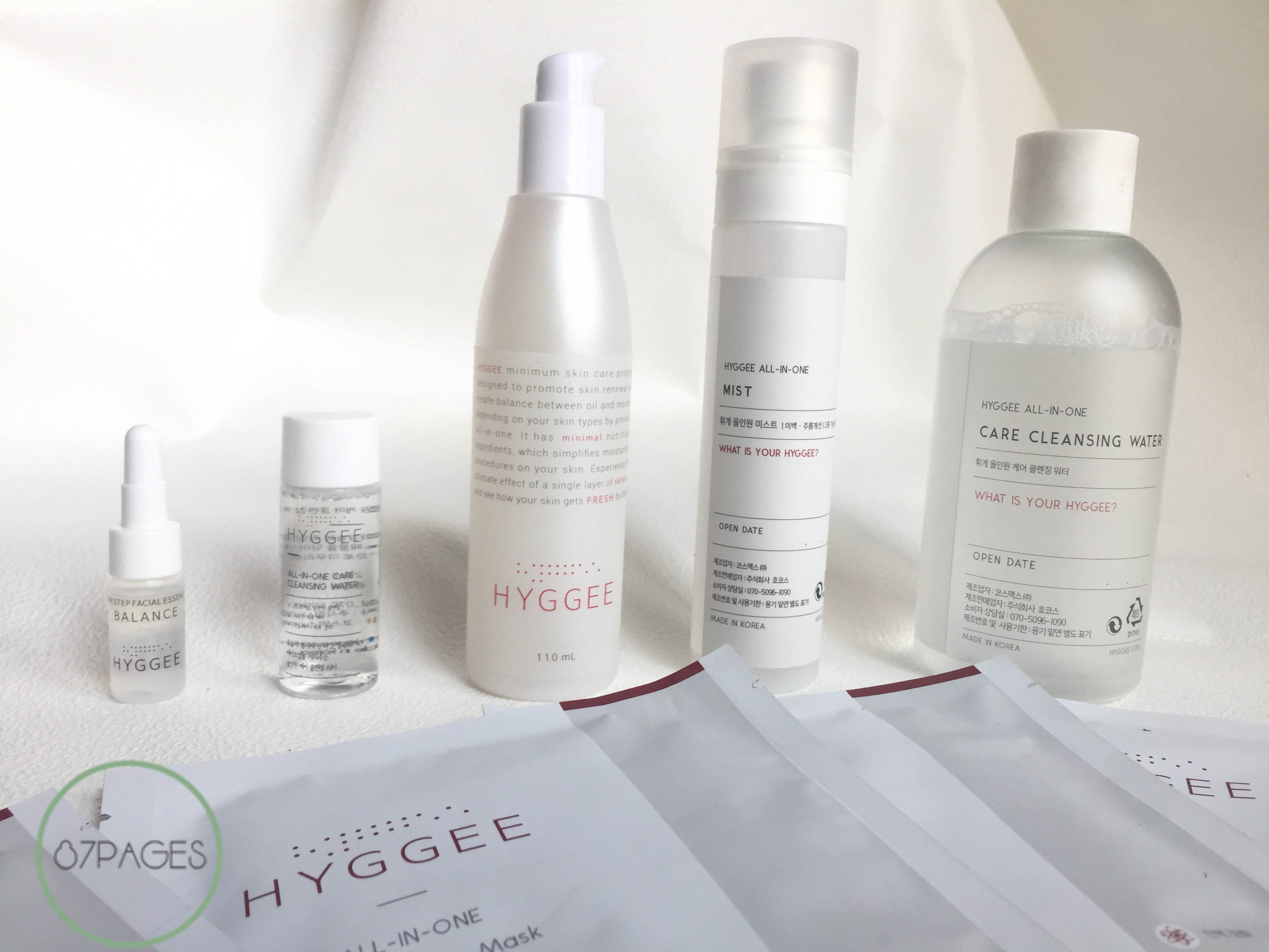 Today I'm sharing my Korean beauty haul and review of the innovating brand HYGGEE, which has helped me create a Minimal Korean Skincare Routine